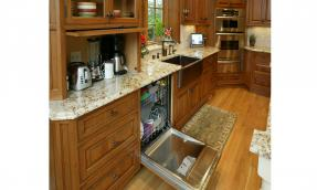 Appliance Garage Pewaukee Kitchen Remodel